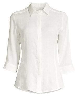 Max Mara Women's Ago Linen Shirt