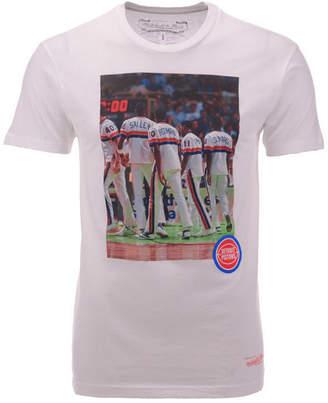 Mitchell   Ness Men Detroit Pistons Photo Real T-Shirt d58596485