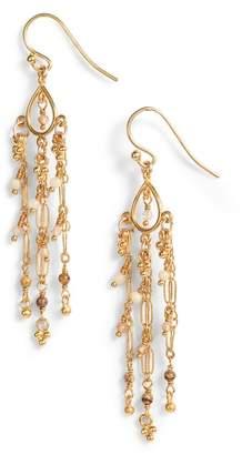 Chan Luu Picture Jasper Chain Earrings