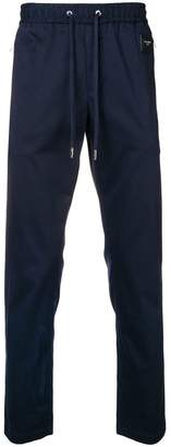 Dolce & Gabbana logo plaque track trousers