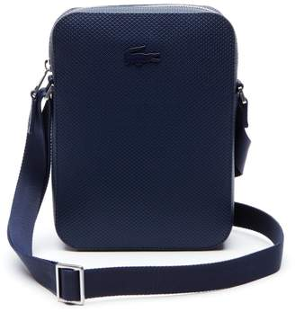Lacoste Men s Chantaco Vertical Matte Pique Leather Bag d755d7ec0419f