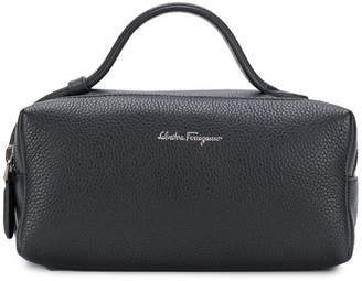 Salvatore Ferragamo logo wash bag