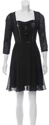 The Kooples Chiffon Lace Dress w/ Tags