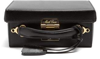 Mark Cross Grace Small Pebble Leather Shoulder Bag - Womens - Black