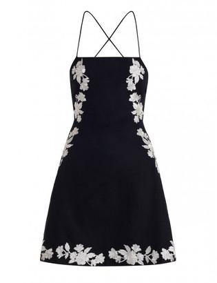 Zimmermann Divinity Motif Lace Back Dress