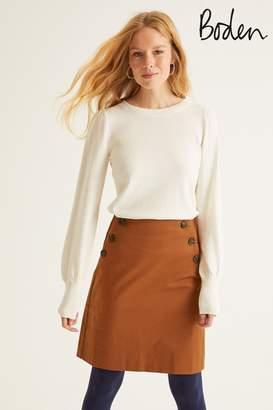 Boden Womens Brown Imogen Mini Skirt - Brown