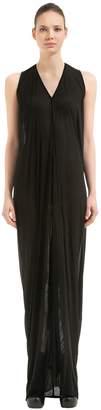 Rick Owens V Neck Sleeveless Dress
