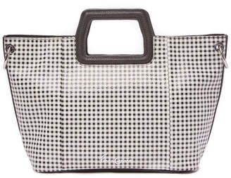 Foley + Corinna Gingham Black Tote Bag