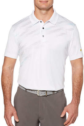 JACK NICKLAUS Jack Nicklaus Short Sleeve Panel Polo Shirt