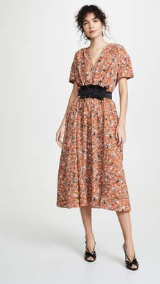 Cédric Charlier Floral Dress