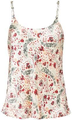 Paco Rabanne floral print top
