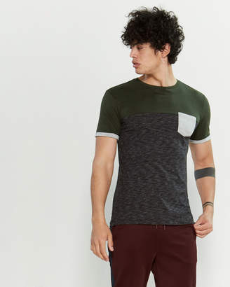 Kultivate Color Block Short Sleeve Tee