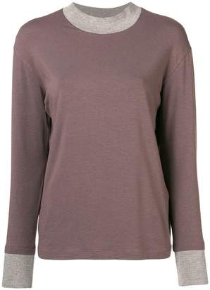 Fabiana Filippi long-sleeve knitted top