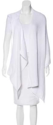 Joseph Longline Rib Knit Vest