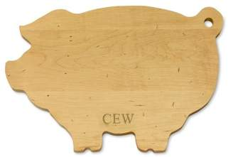 Williams-Sonoma Williams Sonoma J.K. Adams Pig Cutting Board