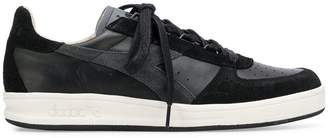 Diadora panelled low top sneakers