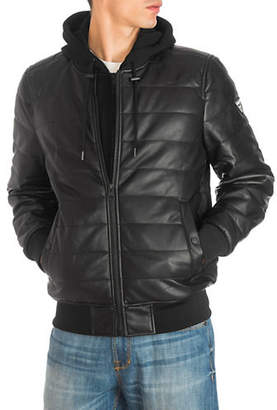 GUESS Quilted Hooded Jacket