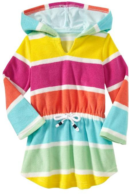 Gap Rainbow pullover cover up