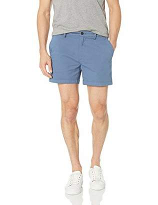 "Goodthreads Men's 5"" Inseam Flat-Front Stretch Chino Shorts"