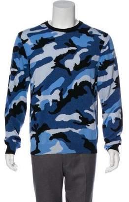 Valentino Camouflage Cashmere Sweater