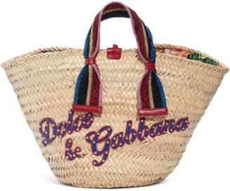 Dolce & Gabbana Woven Straw Tote