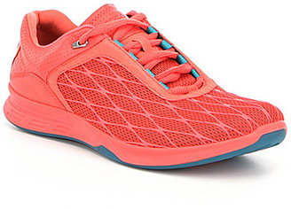 ECCO Women 's Exceed Textile Lace Up Sport Sneakers $160 thestylecure.com