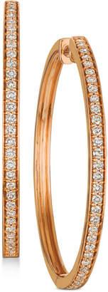 LeVian Le Vian Nude Diamond Hoop Earrings (9/10 ct. t.w.)