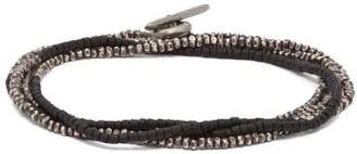 M. Cohen Beaded Sterling Silver Bracelet - Mens - Silver Multi