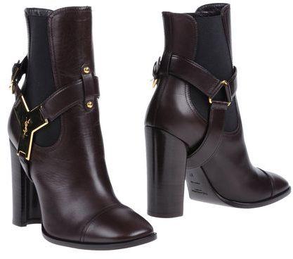 Yves Saint Laurent RIVE GAUCHE Ankle boots