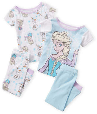 952da8abd Disney Infant Girls) 4-Piece Frozen Pajama Set