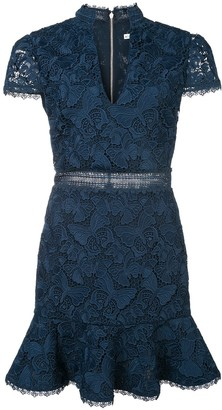 Alice + Olivia Alice+Olivia Diona lace mini dress