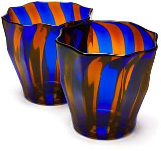 Murano CAMPBELL REY Rosanna stripe glasses