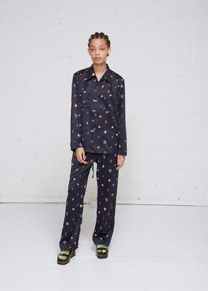 Needles Floral Embroidered Cowboy Pant