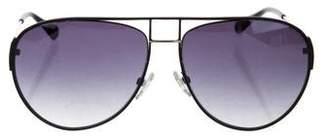 Balmain Aviator Gradient Sunglasses