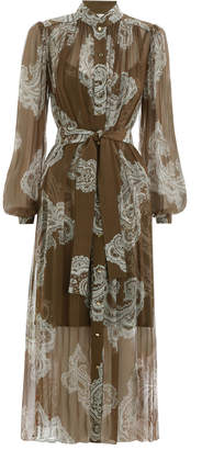 Zimmermann Golden Collar Dress
