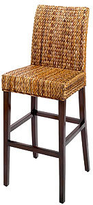 Elana Banana Leaf Bar Stool, Set of 2