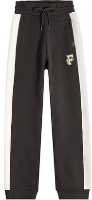 FENTY PUMA by Rihanna High-Waist Cotton Sweatpants with Applique
