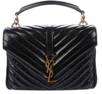 Saint Laurent Medium Monogram Collà ̈ge Bag Black Medium Monogram Collà ̈ge Bag