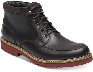 Rockport Men's Marshall Rugged Moc-Toe Boots