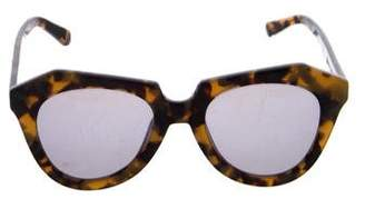 Karen Walker Number One Reflective Sunglasses