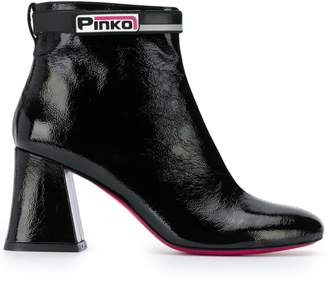 Pinko chunky heel ankle boots