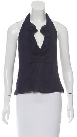 Tom Ford Silk Halter Top
