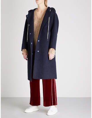 Mo&Co. Nobody Cares wool-blend coat