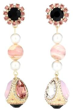 Erdem Teardrop earrings