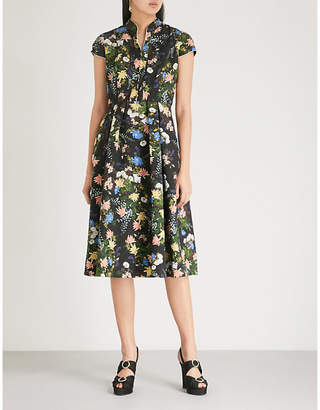 Erdem Henrietta matelasse dress