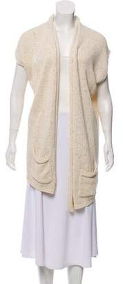 Calypso Sleeveless Open Front Cardigan