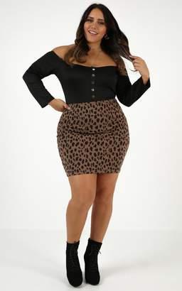 Showpo These Days Mini Skirt in leopard