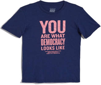 Gilt Exclusive Women's Gilt x Together We Rise: You Are What Democracy Looks Like Unisex T-Shirt