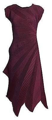 Issey Miyake Women's Starlight Textured Midi Dress