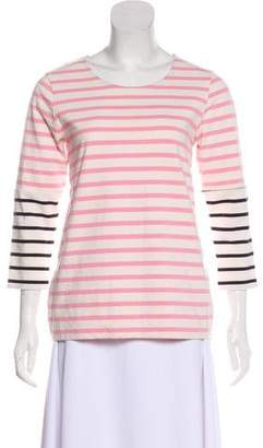 Markus Lupfer Striped Long Sleeve Top